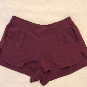 Lululemon Purple Casual Shorts